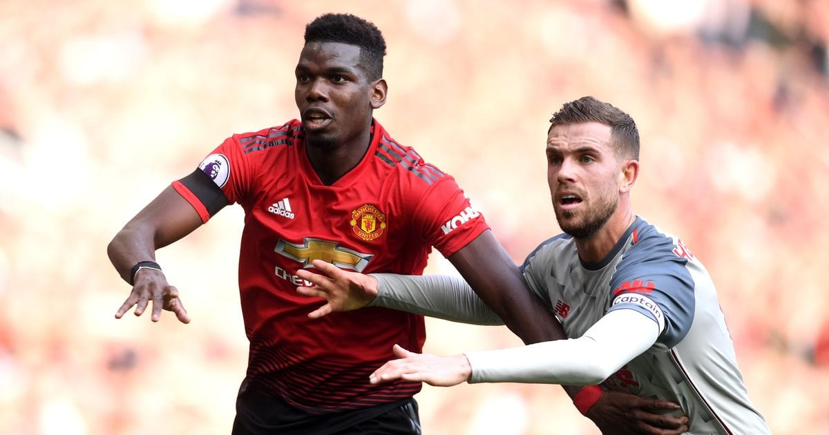 Fans make Paul Pobga point after controversial Manchester United and Liverpool FC combined XI – Manchester Evening News