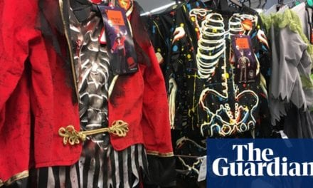 Most frightening point concerning Halloween is plastic waste, say charities|Life and design|The Guardian