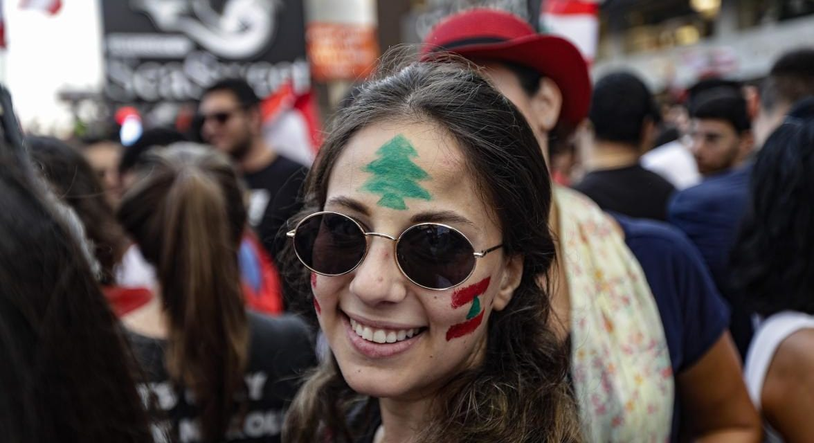 Lebanese celebrities join Beirut protests as anger rises over tax reforms
