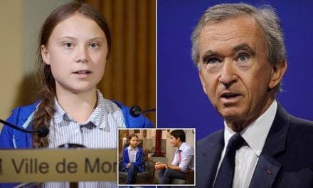 Greta Thunberg has 'surrendered completely to catastrophism' says billionaire fashion CEO | Daily Mail Online