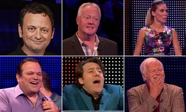 Meet the 10 celebrities who smashed the Cash Builder round in The Chase – so, could you do better? | Daily Mail Online