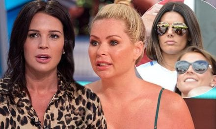 Coleen Rooney and Rebekah Vardy squabble separates celebs and WAGs|Daily Mail Online
