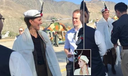 William and Kate visit north Pakistan Hindu Kush mountains where Diana went in traditional clothes | Daily Mail Online