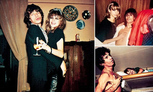 In her new book Jo Wood opens up her unseen archive of the Rolling Stones | Daily Mail Online