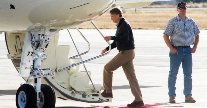 Research Discovers the Wealthy & Celebrities Aren't Changing Their Flying Habits to Lower CO2 Exhausts