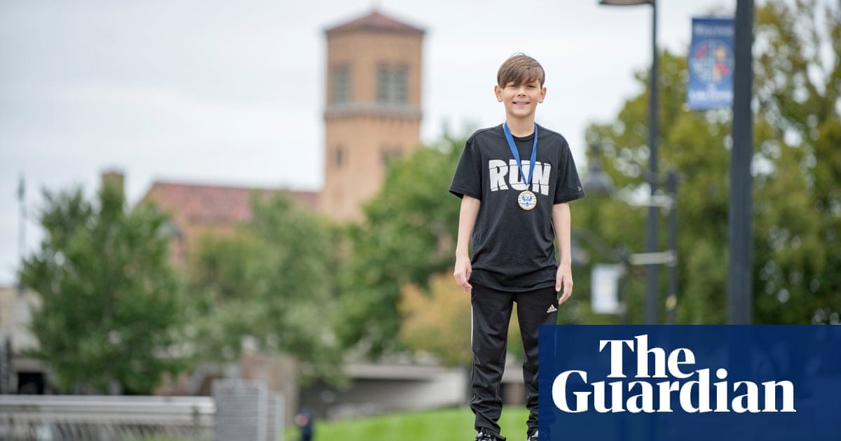 Experience: I'm nine years old and won an adult 10km race by mistake | Life and style | The Guardian