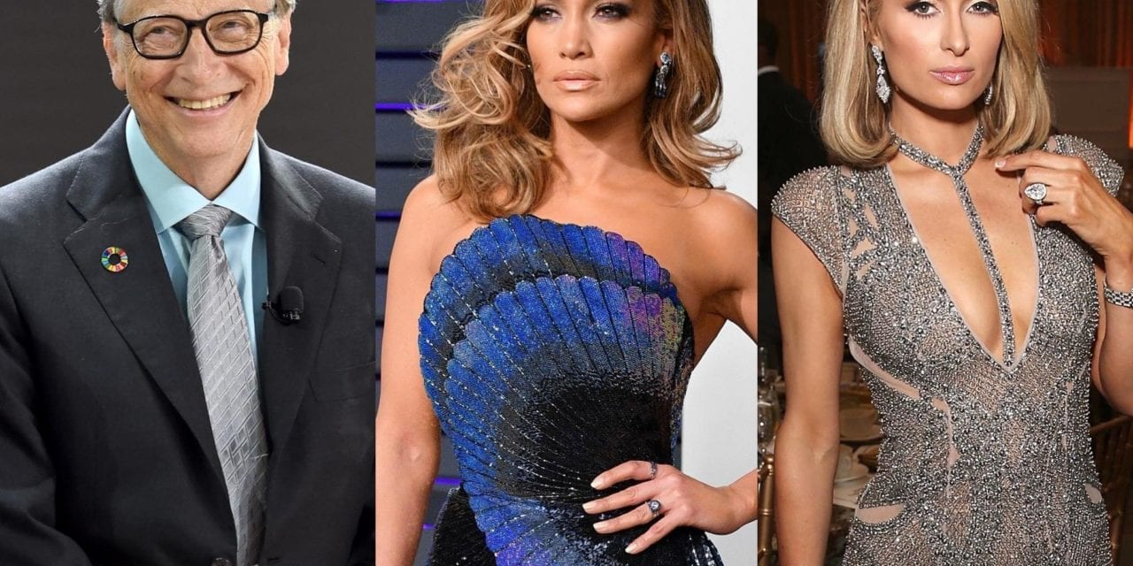 Bill Gates and Paris Hilton among celebrities with 'harmful' carbon footprints, study finds