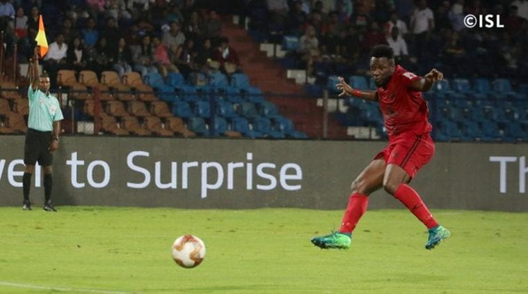 Indian Super League 2019, NorthEast United vs Odisha FC Live Score: NEU 1-0 ODI at halftime | Sports News, The Indian Express