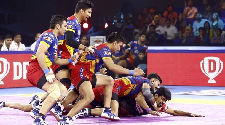Bengaluru Bulls edge out UP Yoddha in extra time to enter PKL semifinal | Sports News, The Indian Express