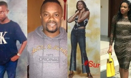 Throwback photos of some top Nigerian celebrities that would crack you up (before and after they became famous)