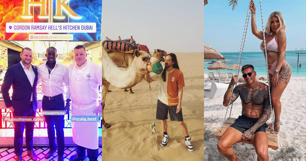 Snapped: Stars found in the UAE this week