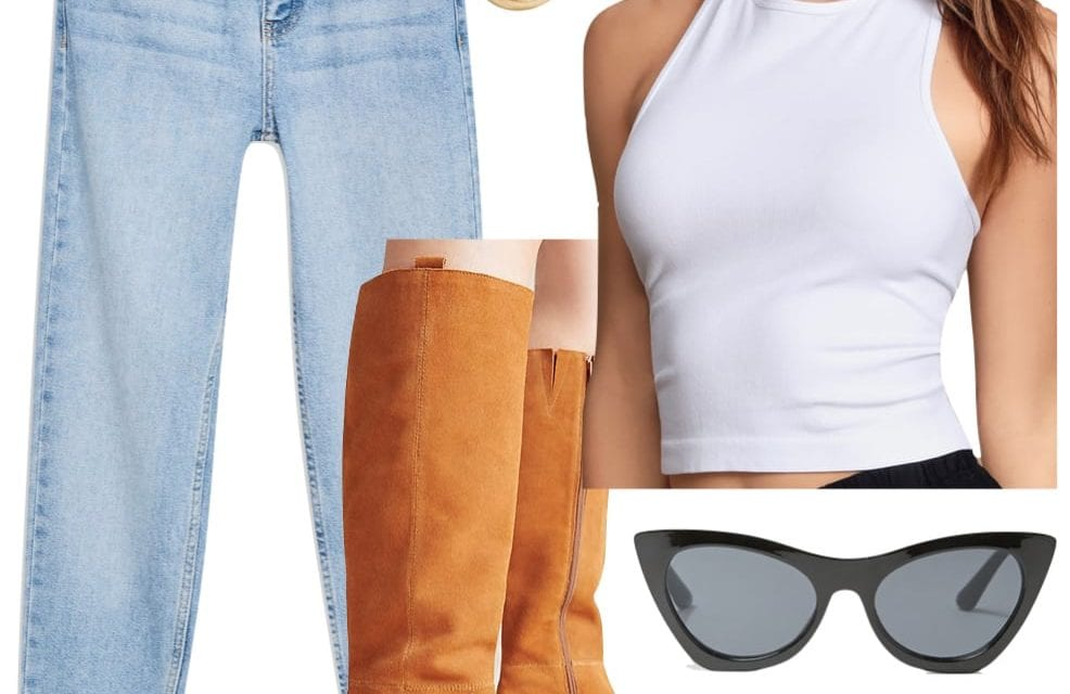 3 Easy White Tank Top Outfits Inspired by Celebrities – College Fashion