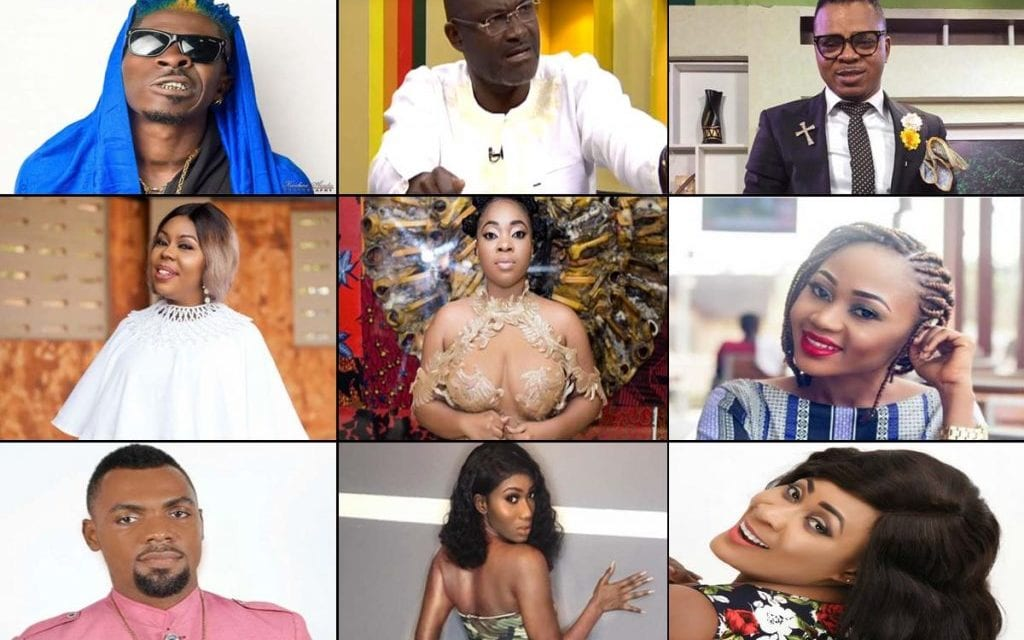 Ghanaian Celebrities who Fiercely Clap Back on Social Media