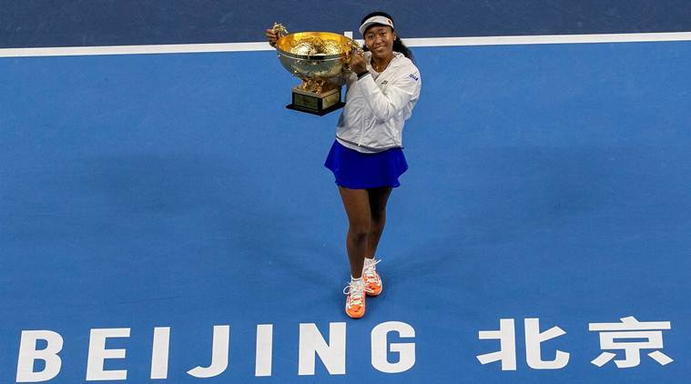Naomi Osaka beats World No.1 Ash Barty to win second straight WTA title | Sports News, The Indian Express