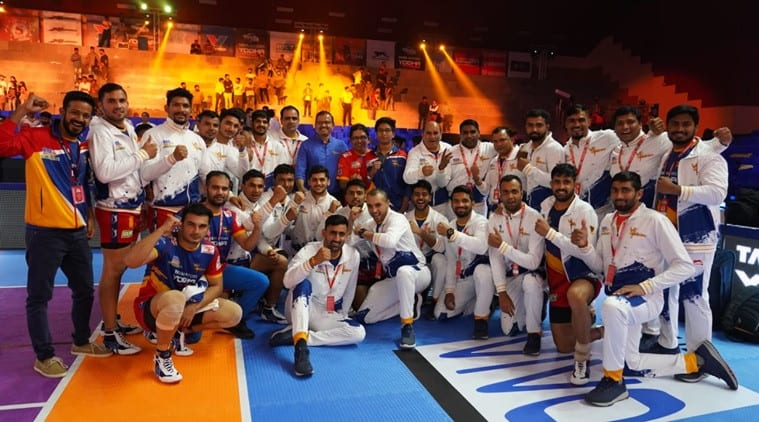UP Yoddha beat Puneri Paltan in PKL | Sports News, The Indian Express