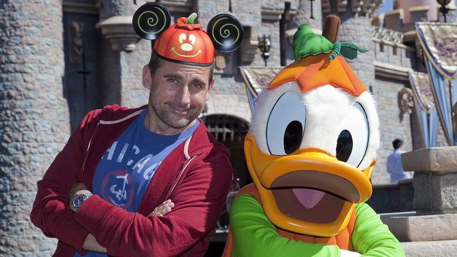 25 celebrities hanging out with Disney characters at Disneyland and Disney California Adventure