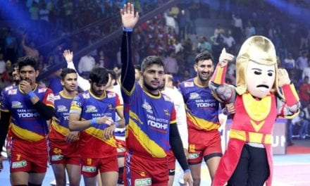 UP Yoddha wrap up house leg with convincing 45-33 win over Bengaluru Bulls|Sports Information, The Indian Express