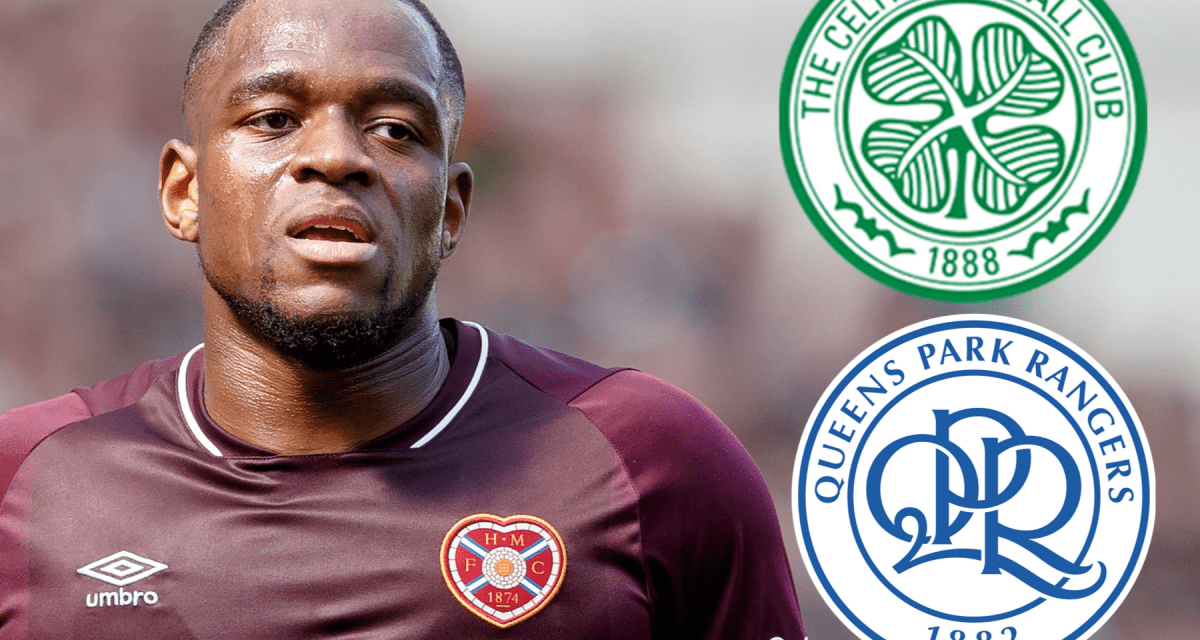 Celtic as well as QPR 'looking' Hearts star Ikpeazu according to report that will have followers scraping their heads