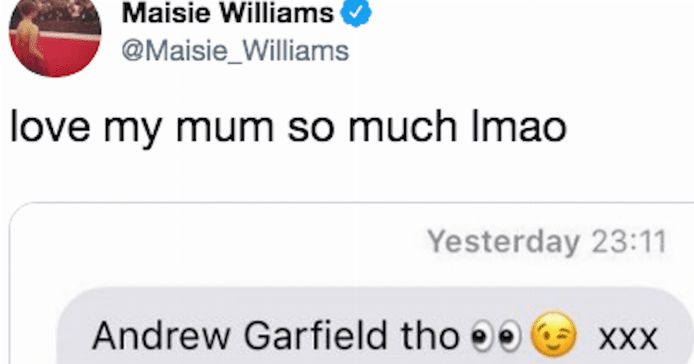 20 celebrities share relatable texts they've received from their parents.
