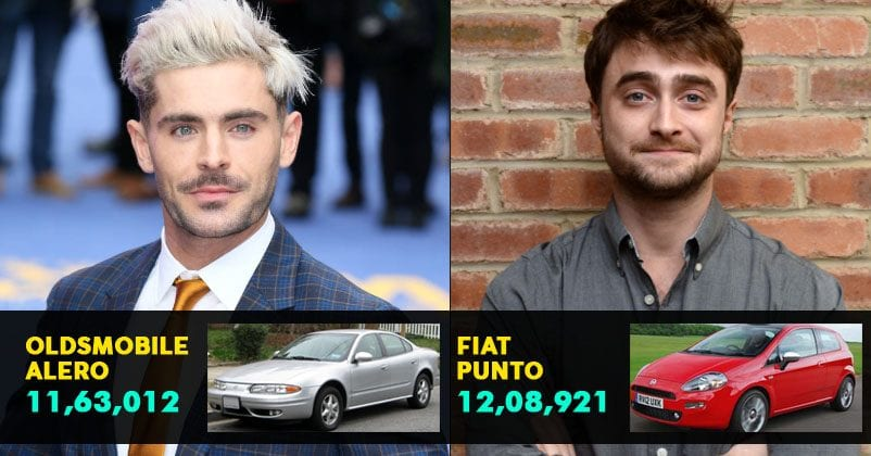 10 Celebrities That Own Extremely Basic Vehicles Regardless Of Being Super-Rich