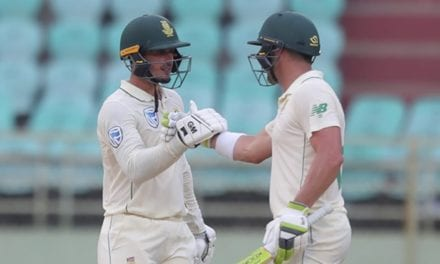 IND vs SA 1st Test: Dean Elgar, Quinton de Kock aid Proteas battle back on Day 3|Sports Information, The Indian Express