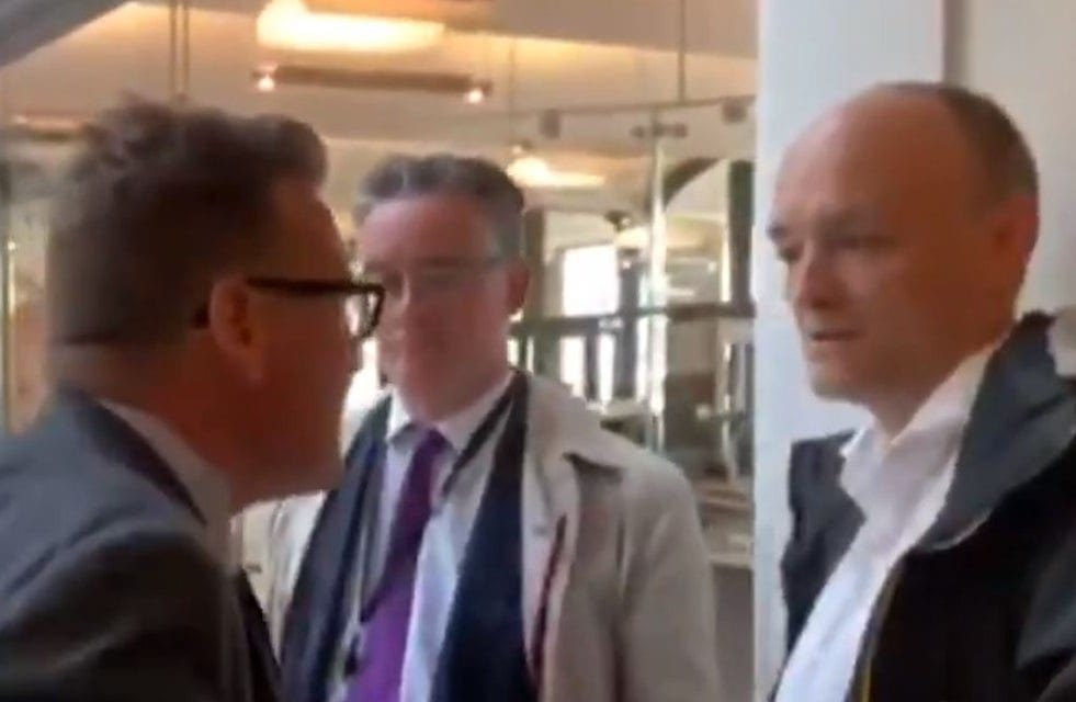 Dominic Cummings confronted by Labour MP over Boris Johnson's 'tone of language'