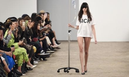 Kimhēkim: Fashion brand criticised for using IV drips in runway show | The Independent