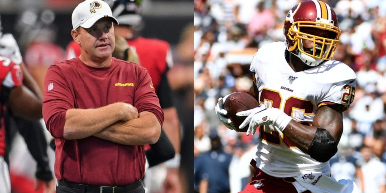 Jay Gruden address comments that he doesn't like AP's running style