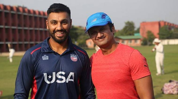 Bat Man: Chandigarh boy who made it to US cricket team | Sports News, The Indian Express