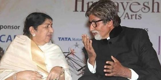 Amitabh Bachchan has an unique birthday celebration video for Lata Mangeshkar|Celebs News– India TELEVISION