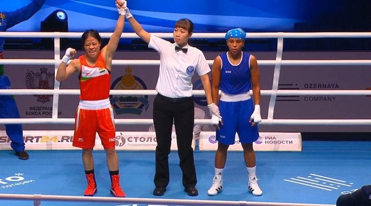 Mary Kom secures 8th Globe medal, enters semifinals Sports Information, The Indian Express