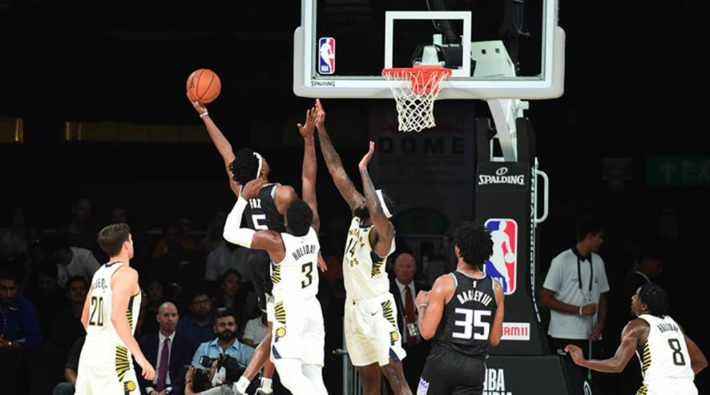 In final NBA exhibition game, fans turn up the volume | Sports News, The Indian Express