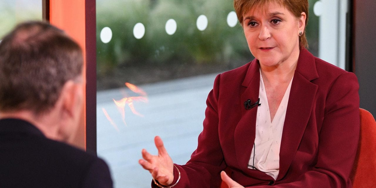Sturgeon calls for independence referendum in a 'matter of weeks'