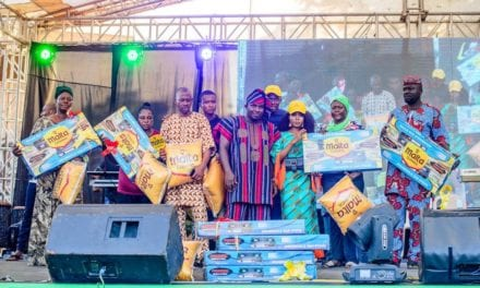 Sir Shina Peter, Debola Lagos, Other Celebrities Light-Up Ofada Rice Day Festival