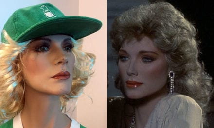 Kim Cattrall and a Mystery Mannequin in Philadelphia