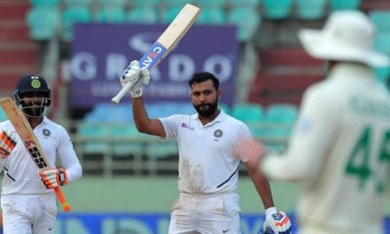 INDvSA 1st Test: Rohit Sharma steals show with historic ton on Day 4 | Sports News, The Indian Express