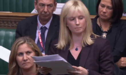 Tearful MPs break into round of applause after powerful address on domestic abuse