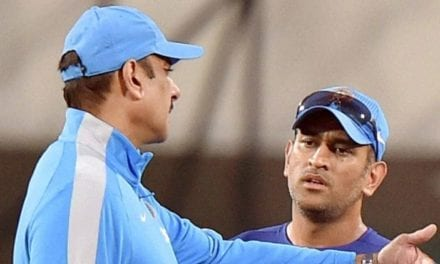 Why are people in a hurry to see MS Dhoni off, asks Ravi Shastri | Sports News, The Indian Express