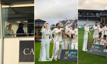 Peter Siddle's cardboard cutout hangs around as Essex celebrate County Championship title | Sports News, The Indian Express