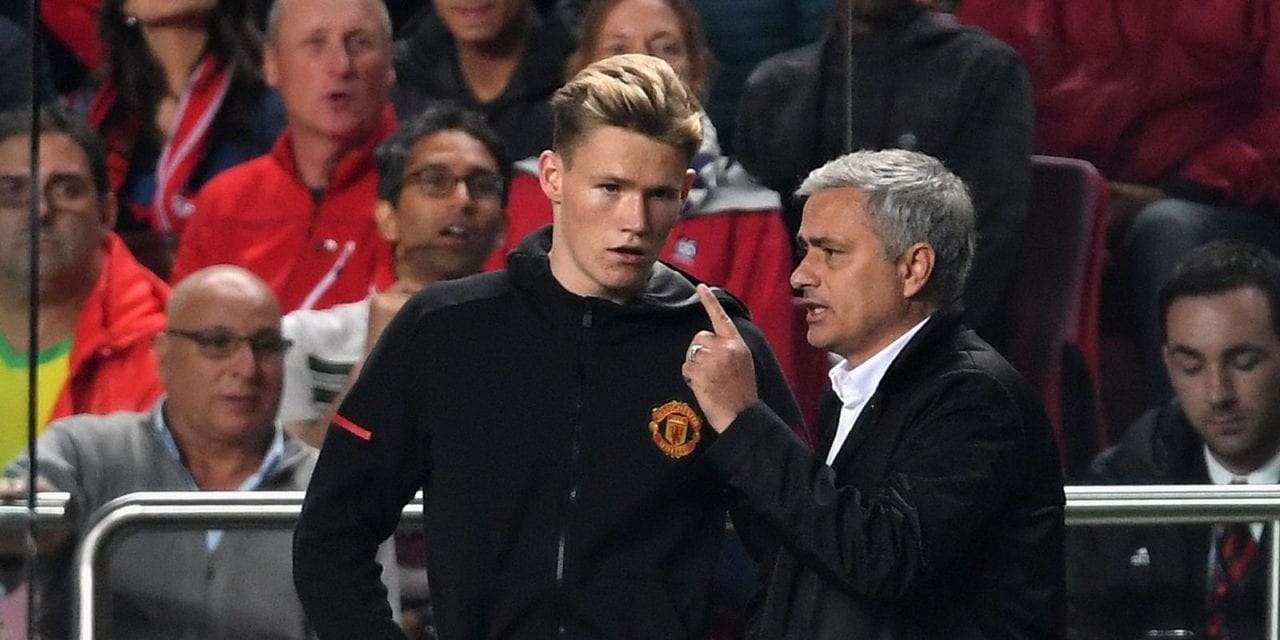 Jose Mourinho holds 'special place' in Scott McTominay's heart | Football News | Sky Sports