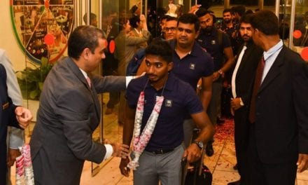Sri Lanka cricket team arrives in Pakistan amidst security promises | Sports News, The Indian Express