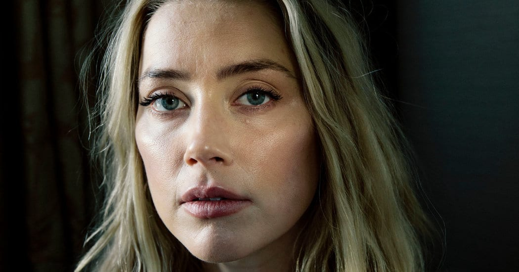 Opinion   Amber Heard: Are We All Celebrities Now? – The New York Times