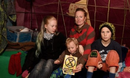 Mum takes her kids to live in the woods as part of Extinction Rebellion protest – Gloucestershire Live