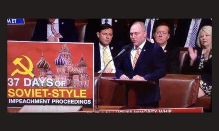 GOP Thanks on Home Floor as Scalise Supplies Pungent Speech on 'Soviet-Style' Impeachment Hearings