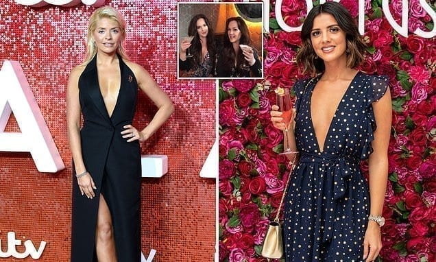 Celebrities go wild for £12.99 'breast lift in a box' tape – created by twin sisters | Daily Mail Online