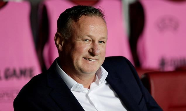 AHEAD OF THE GAME: Michael O'Neill's first job at Stoke? Selling off all their big names | Daily Mail Online