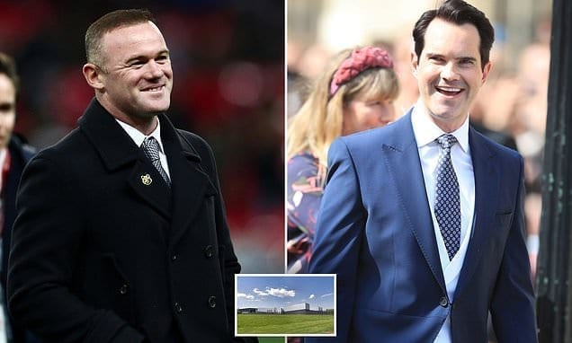 Stars consisting of Wayne Rooney and also Jimmy Carr could get tax reimbursement over information centres|Daily Mail Online