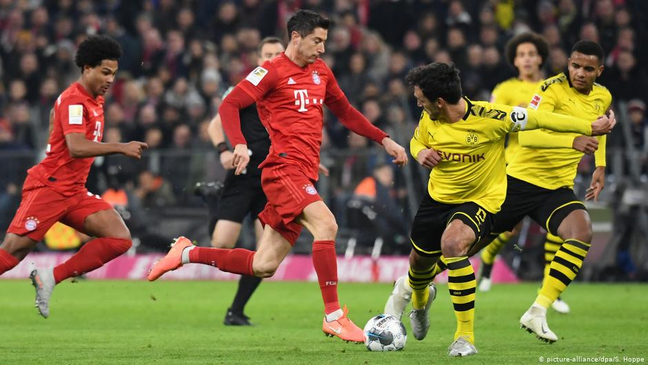 Bayern′s humiliation of Dortmund shows the value of change | Sports| German football and major international sports news | DW | 09.11.2019