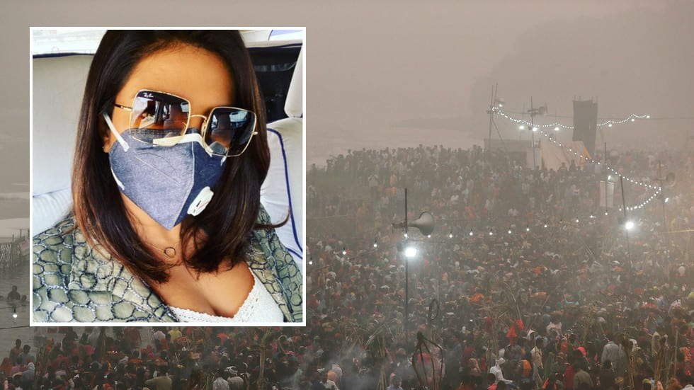 'Absolutely disgusting': Indian celebrities lambaste govt over Delhi air pollution emergency