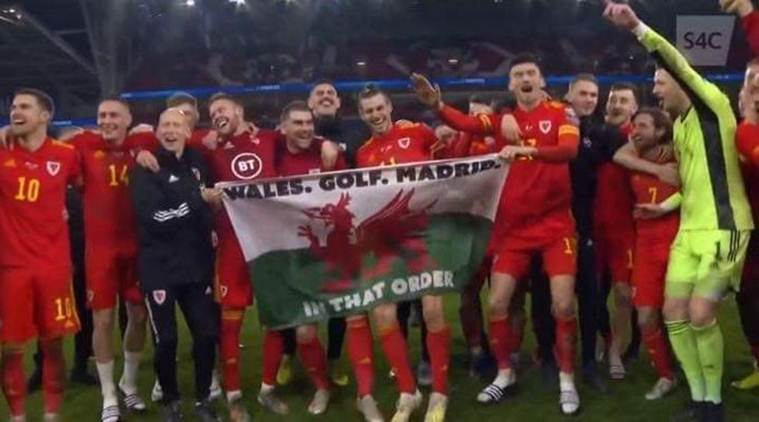 Enjoy: Gareth Bundle in Madrid jibe after aiding Wales reach Euro 2020|Sports News, The Indian Express